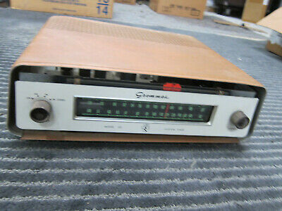 Grommes Model 102 Vintage Stereo Am/Fm Tube Tuner, USA, Works, COOL
