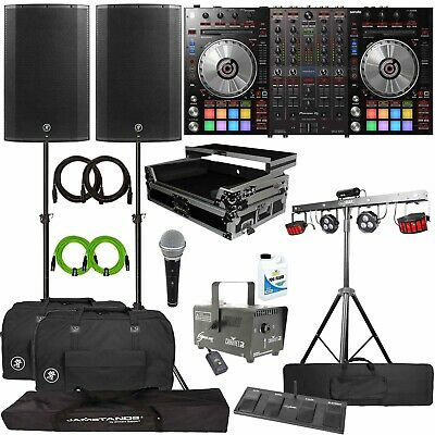 Pioneer DDJ-SX3 Serato Pro DJ Controller+Mackie THUMP15A Speakers+Lighting Pack