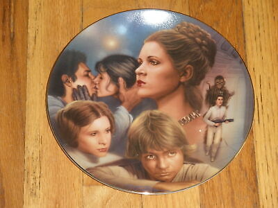 The Hamilton Collection Star Wars Heroes Plate Leia