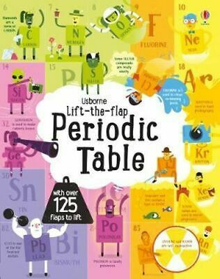 NEW Lift-The-Flap Periodic Table By Alice James Board Book Free Shipping