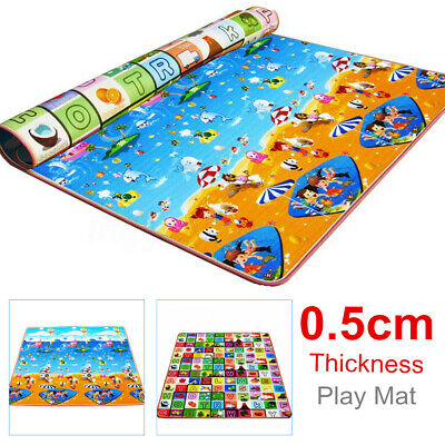 Baby Kids Play Mat Foam Floor Child Activity Soft Crawl Gym Creeping Blanket