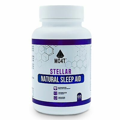 Stellar MO4T Premium Sleep Aid with Magnesium for the overnight Muscle Recovery