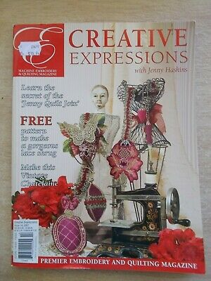 Creative Expressions with Jenny Haskins #14~Dress~Chatelaine~Cushions~Quilt...