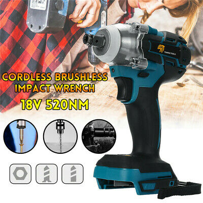 Torque Impact Wrench Brushless  Cordless Replacement For Makita Battery DTW285Z