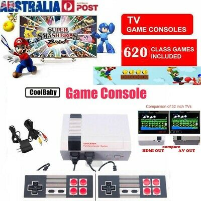 620 in 1 game Classic Mini Console for NES Retro with Gamepads For Nintendo AU
