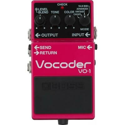 New BOSS VO-1 Vocoder Guitar Effects Pedal F/S from Japan