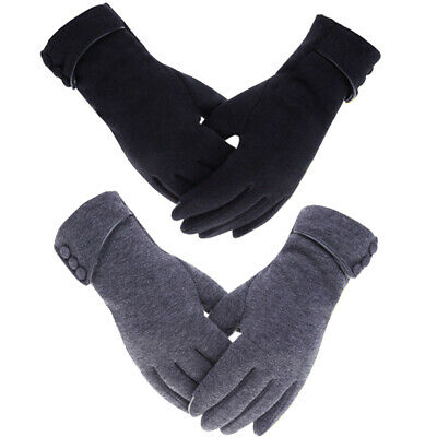 Touch Screen Winter Warm Thick Soft Insulation Fleece Gloves for Women Ladies US