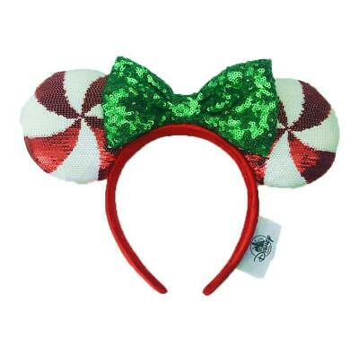 NEW Disney Parks Mickey Minnie Mouse Lollipop Ears Headband Gift