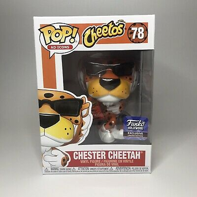 Funko Hollywood Grand Opening Chester Cheetah With Pop Protector In Hand
