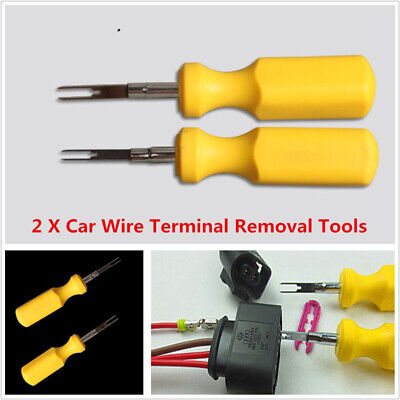 For Audi Volkswagen Connector Pin Release Puller 2xCar Terminal Removal Tool Kit