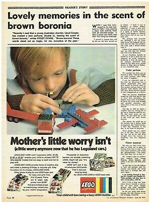 Original Vintage Ad Lego Mothers Little Worry Lego System Toys June 28 1972
