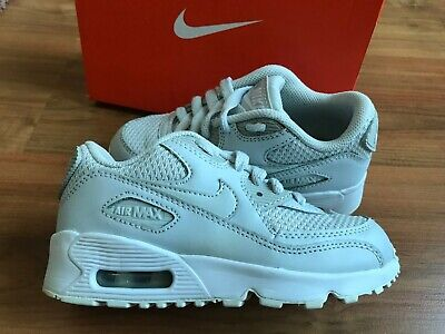 BOYS GREY NIKE AIR MAX 90 Trainers (uk11) *GREAT COND* EUR