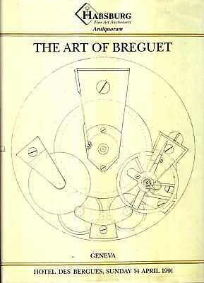 Auction Catalogue THE ART OF BREGUET : AN IMPORTANT COLLECTION OF 204 WATCHES, C