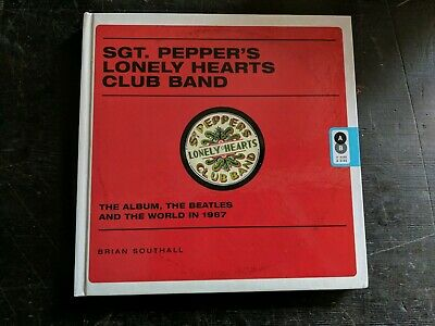 Unread THE BEATLES SGT PEPPERS LONELY HEARTS CLUB BAND HARDCOVER BOOK