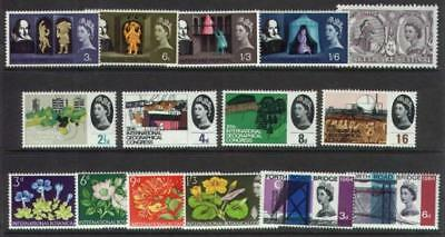 1964 Complete Commemorative Year Set (4 Sets) Unmounted Mint