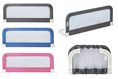 Safety 1st Portable Bed Rail Bed Guard Blue Pink Dark Grey