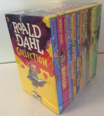 Roald Dahl 15 Books Box Set Collection New Covers, BFG, Going Solo, Matilda