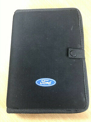 Focus Owners Manual Wallet Service Book Handbook Holder 2014 2015 - 2017 Ford