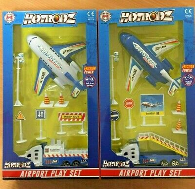 TOYS & GAMES JOB LOT Box of 6 Airport Playset Wholesale Clearance UK