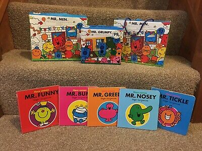Mr. Men Book Bundle And Jigsaw Puzzle
