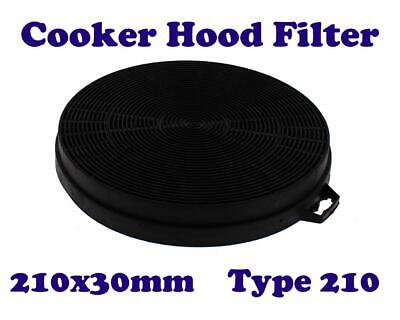 THERMOR HDM8000 HDM9000X HDM9700M Type 210 Carbon Cooker Hood Filter