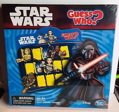 Star Wars Edition Guess Who?  Hasbro Board Game
