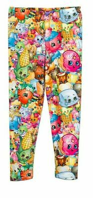 Shopkins Leggings Character Multicolor Ages 5-9 Years NEW WITH TAGS Size 4 & 10
