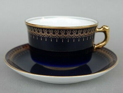 Porzellan Sammeltasse - Collection ROMANOV - Genuine Cobalt
