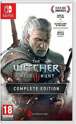 The Witcher 3 Wild Hunt Complete Edition (Nintendo Switch) NEW Sealed