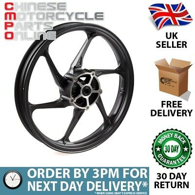 Motorcycle Wheel (Front) Black 17x2.15 (MFW080) for Kiden, Lexmoto, Zontes #080