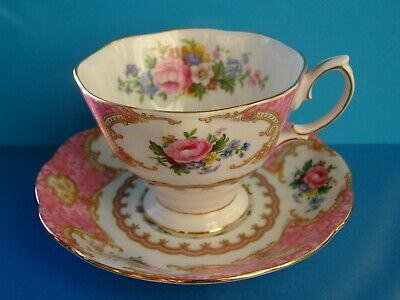 A Royal Albert Lady Carlyle Cup & Saucer