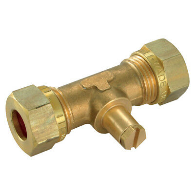 Wade Brass Compression Fittings - 10Mm Od Test Point Straight 9-00874