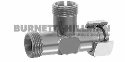 METRIC Male/Female/male Tee DKO (S Series) BODY ONLY - Compression Fitting