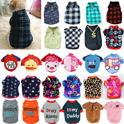 Pet Dog Clothes Puppy T Shirt Clothing For Small Dogs Chihuahua Vest Apparel