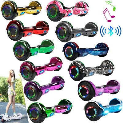 """6.5"""" Hoverboard Bluetooth Electric Balance Scooter with Bag LED Chrismas Gifts"""