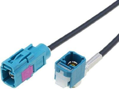 Cable Antenne Fakra F coude Fakra F - 6m ADNAuto