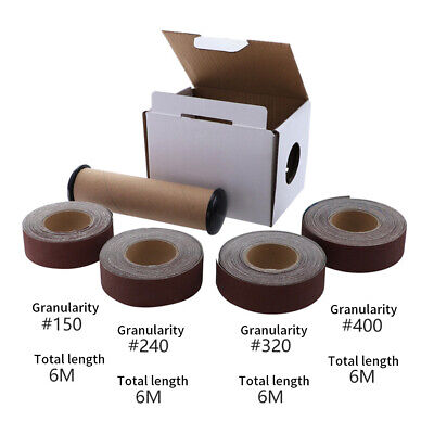 Metal Workers Abrasive-Roll Assorted Soft Boxed Emery Cloth Pumped Polishing
