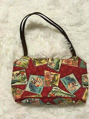 NEW SANRIO Smiles HELLO KITTY  Purse Bag Red Hawaii Aloha CUTE K99