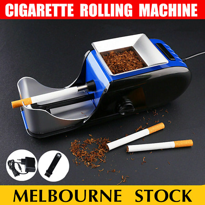 Automatic Cigarette Rolling Machine Tobacco Maker Electric Roller Injector Tubes