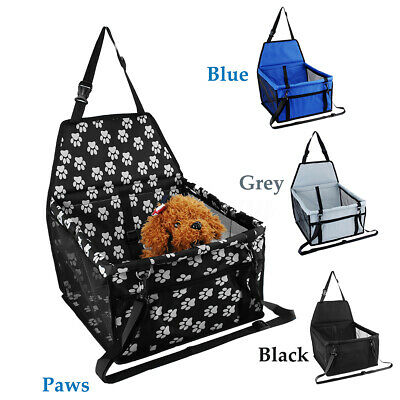 Pet Car Booster Seat Puppy Cat Dog Carrier Travel Protector Safety Basket