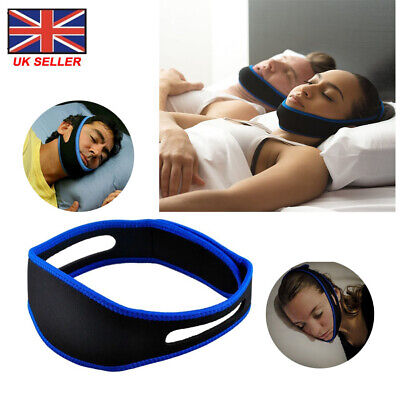 Men Women Anti Snoring Chin Strap Belt Stop Snore Device Apnea Jaw Support Sleep