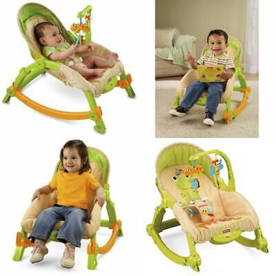 Fisher Price Baby Rocker Chair Seat Portable Vibrating Newborn To Toddler Unisex