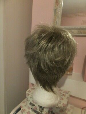 Used Soft Spiky Whispy Dimples  Wig In A Streak I Think 18/22 ?