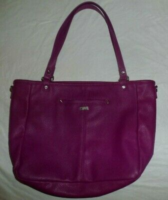 Jewell By Thirty One Purple Pebble Shoulder Bag Tote