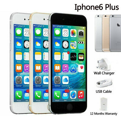 New 6 Plus Factory Sealed & Unlocked+16GB Space Grey Gold Silver in Sealed Box