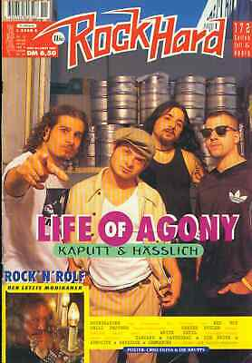 Rock Hard 1995/11 (Poster) Life Of Agony