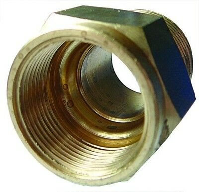 CM12/12 ITM Brass Straight Male Adaptor/Stud Coupling Tube OD 12mm BSPT male 3/4