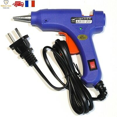 Pistolet Colle Chauffage Electrique Thermofusible Reparation Bricolage Outils FR