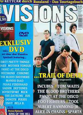 Visions 2006/12 (Mit DVD) Trail Of Dead
