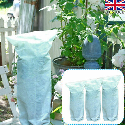 3x Plant Warming Fabric Protection Jacket Covers Tree Frost Protector 3 Sizes UK